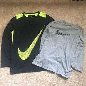 Nike Boys Long Sleeve T-shirt's